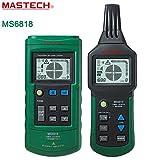 MASTECH ms6818alambre avanzado probador medidor de localizador de tuberías cable multifunción detector de 12~ 400V