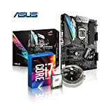 Memory PC Gaming Aufrüst-Kit Intel Core i7-7700K 7. Generation (Quadcore) Kabylake 4x 4.2 GHz, ASUS ROG STRIX Z270F Gaming, AURA LED-Beleuchtung, 0 GB DDR4 2133Mhz, 1792 MB Intel HD 630 Grafik, USB 3.0, USB 3.1, SATA3, M.2 Sockel, Sound, GigabitLan, HDMI, Display-Port, DVi, GAMING-KIT, Kaby Lake, komplett fertig montiert und getestet