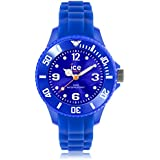 Ice-Watch Unisex - Armbanduhr Ice Forever Analog Quarz Silikon SI.BE.M.S.13