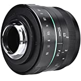 Acouto 50mm F/1.8 Large Aperture Manual Focus CCTV Lens For Canon/Sony/Olympus/Pentax/Fujifilm And Other DSLR Cameras