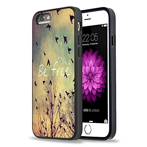 FTFCASE iPhone 5S Case Apple 5/5S Schwarz Cover TPU Gummi Gel-have Faith & Believe in Yourself - -