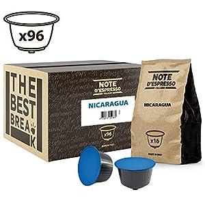 Note D'Espresso Nicaragua, Capsule per caffè, esclusivamente compatibili con macchine Nescafé* e Dolce Gusto* 7 g x 96