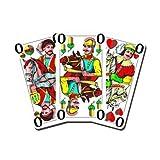 05519910501 - Nürnberger Spielkarten - Binokel/Gaigel eXtra cLassic, württembergisches Bild im Klarsichtetui