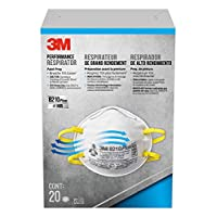 3m 8210 Particulate Protection Respirator Mask - Yellow