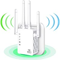 WLAN Verstärker 1200 Mbit/s Dualband 5 GHz und 2,4 GHz durch Wände - WiFi Extender Kompatibel Router/AP/Repeater 3 in 1…