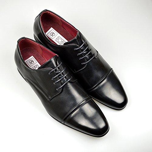 Chaussures formelles en cuir pour homme Noir nouvellement cotées (limitée) Ratio Taille :  39–45 - Noir