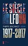 Le siècle Balfour par Simonnot