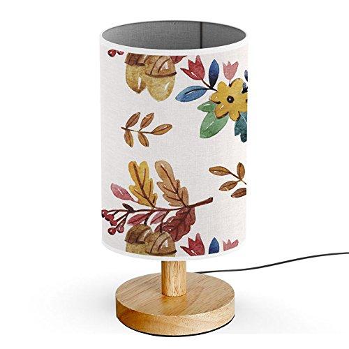 ArtsyLight - Schreibtischlampe LED Holz Tischlampe, USB-Stecker Schlafzimmer Nachttischlampe [...