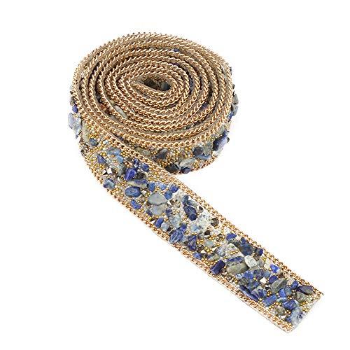 Rollo cinta diamante 1 m cristales estrás decorar