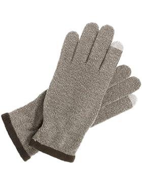 Intellig_23012-578-Knitted trüffel Touch Universalgröße