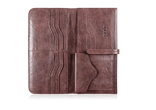 ZXDOP Brieftasche der Männer Mappen-Retro- Männer lange Beutel-Mappe der ledernen Beutel-Männer ( farbe : 5# ) 4#