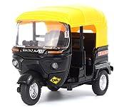 #7: Vortex Toys Presents Auto Rikshaw CNG For Kids Pull & Press Metal Toy