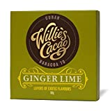 Willie's Ginger lime dark chocolate bar