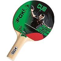 Fox TT Unisex Cub 1 Table Tennis Bat, Red