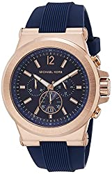 Michael Kors Analog Blue Dial Mens Watch-MK8295