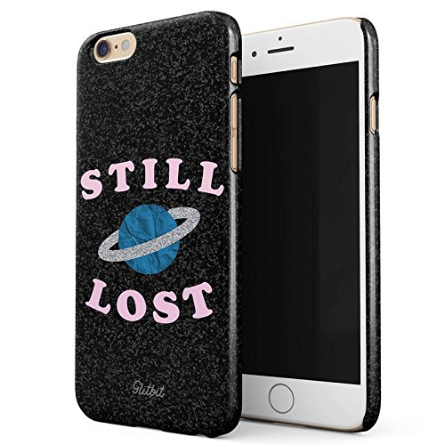 Glitbit Moon Phases Eclipse Stars Cosmos Galaxy Universe Cosmic Lunar Luna Tumblr Sottile Guscio Resistente In Plastica Dura Custodia Protettiva Per iPhone 7 Plus / 8 Plus Case Cover Still Lost