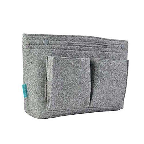 Aolvo Handtaschen-Organizer, Filztasche, Organizer, Aufbewahrungstasche, Geldbörse, Make-up-Behälter, für Frauen und Mädchen -