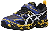 ASICS Pre Turbo PS Boys Running Shoe (Infant/Toddler/Little Kid), Carbon/White/Lemon,...