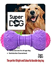 Super Dog Dumbbell Toy for Dogs with LED for Small and Medium Dogs