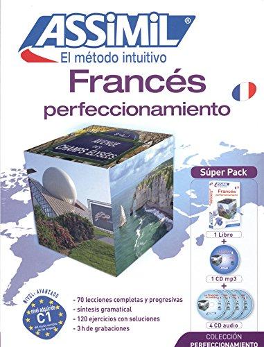 Metodo ASSIMIL - Francés Perfeccionamiento - Superpack (1 libro + 1 CD mp3 + 4 CD audio)