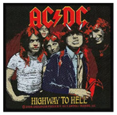 AC/DC Highway To Hell Patch 10 X 10cm (4
