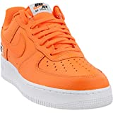 NIKE Herren Air Force 1 '07 Lv8 JDI Lthr Sneakers, Mehrfarbig Total Orange/White/Black 001, 41 EU
