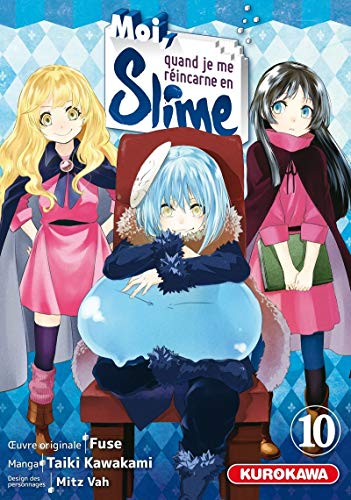Moi, quand je me réincarne en Slime - tome 10 (10)