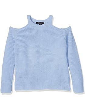 New Look Mädchen T-Shirt Cold Shoulder Rib