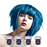 4 x La Riche Directions Semi-Perm Hair Colour Lagoon Blue (ALL COLOURS Avail) 4x 88ml