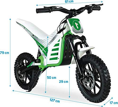 Beeper-Rmt10 Moto Trial Elettrica Bambini 1000 W 36 V, Colore, RMT10