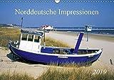 Norddeutsche Impressionen (Wandkalender 2019 DIN A3 quer): Landschaften und Sehenswürdigkeiten (Monatskalender, 14 Seiten ) (CALVENDO Natur)