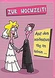 Hochzeitskarte Humor Die schönste Nacht im Leben