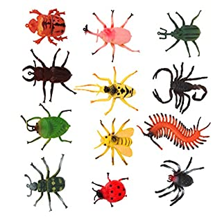 Children's Model Insect Toys Party Tricks 4-10cm