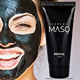 #2: DONNA Activated Charcoal Purifying Black Peel Off Face Mask | Easy & Quick way Prevent Blackheads, Remove Dust, Unclog Pores & get an instant Glow