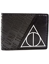 Cartera de Warner Bros Harry Potter Deathly Hallows Negro