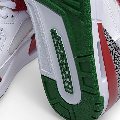 Basket Nike Jordan Spizike - 315371-125 white/vrsty rd-cmnt gry-clssc