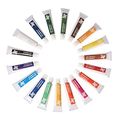 18 x Aquarellfarben Aquarell Farben Aquarellfarbe 550 von xica - TapetenShop