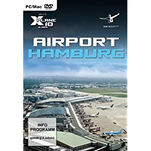 X – Plane 10 – Airport Hamburg (Add – On) – [PC/Mac]