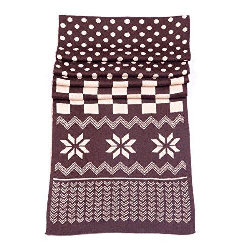 cachemire foulards pour hommes gray