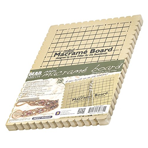 BeadSmith Makramee Board Mini mit Anweisungen 15,2x 22,9cm -