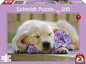 Schmidt - 56110 - Puzzle Classique - Le Sommeil Du Juste - 200 Pièces
