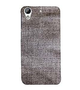 EPICCASE Faded black jean Mobile Back Case Cover For HTC Desire 626 (Designer Case)