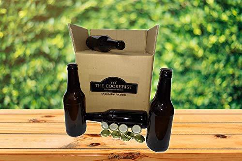 Set Botellas y chapas para elaborar Cerveza en casa más Chapadora de Regalo (16)