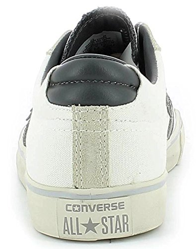 Converse 156793c, Chaussures Multisport Outdoor mixte adulte Multicolore (Egret/Charcoal/V.Grey)