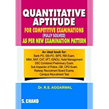 Amazon rs aggarwal books quantitative aptitude for competitive examinations old edition fandeluxe