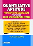 #6: Quantitative Aptitude for Competitive Examinations (Old Edition)
