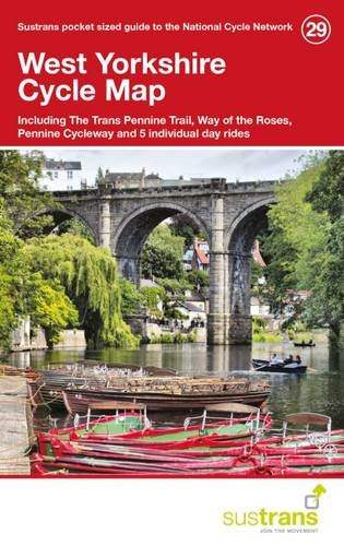 West Yorkshire Cycle Maps 29 por Sustrans