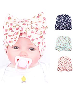 JT-Amigo 3 pcs Gorrito para bebé niñas
