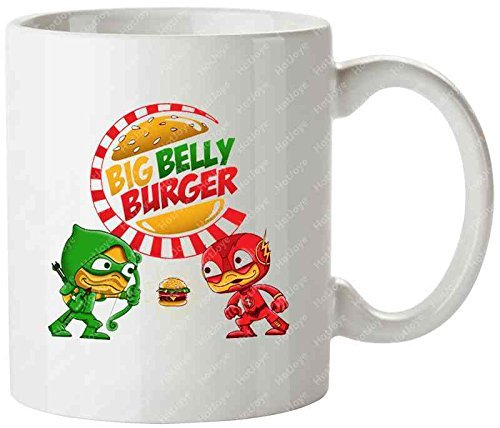 big-belly-battle-the-flash-barry-allen-central-city-green-arrow-tea-cups-mug-tazas-de-desayuno-cup