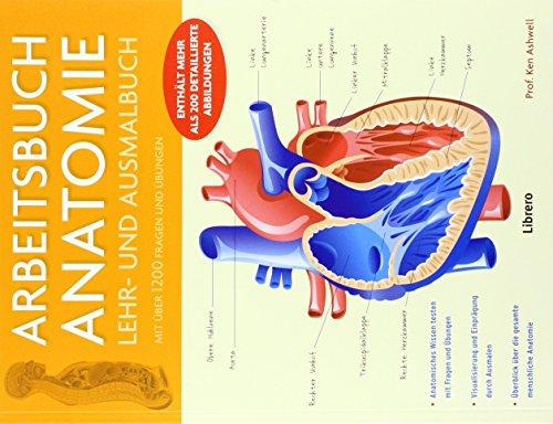 Arbeitsbuch Anatomie: Lehr- und Ausmalbuch